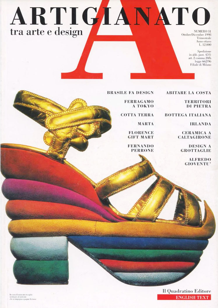 Magazines: 'Artigianato' (Craftsmanship), between art and design
